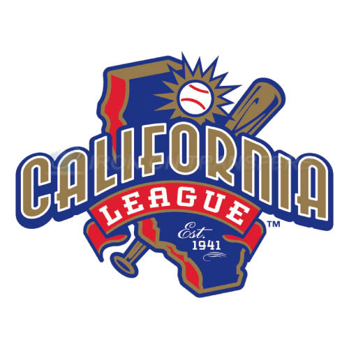 California League Iron-on Stickers (Heat Transfers)NO.7653