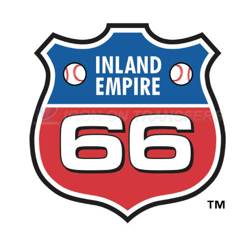 Inland Empire 66ers Iron-on Stickers (Heat Transfers)NO.7664