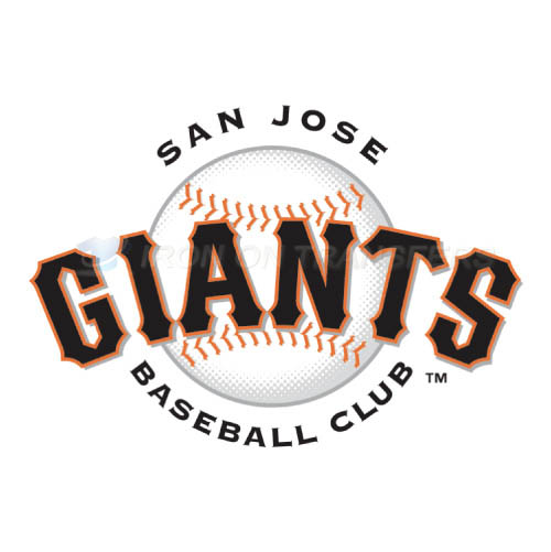 San Jose Giants Iron-on Stickers (Heat Transfers)NO.7681