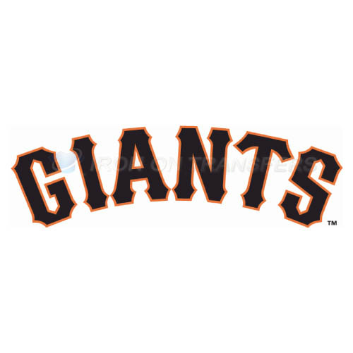 San Jose Giants Iron-on Stickers (Heat Transfers)NO.7682