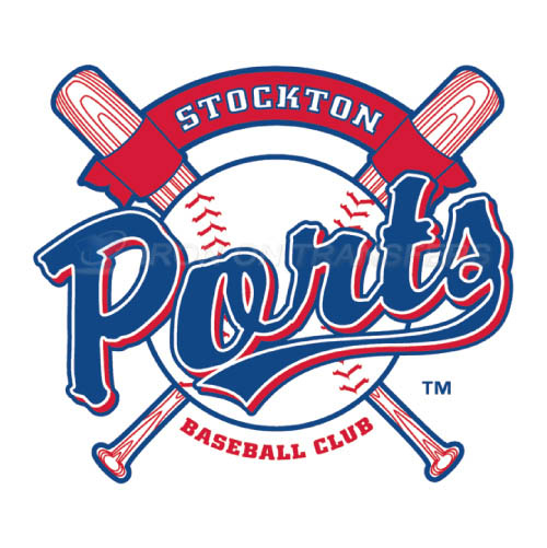 Stockton Ports Iron-on Stickers (Heat Transfers)NO.7685