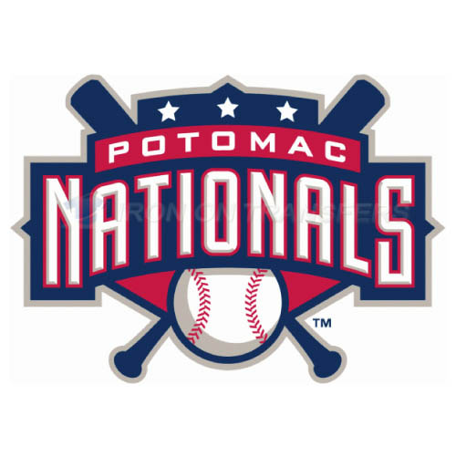 Potomac Nationals Iron-on Stickers (Heat Transfers)NO.7796