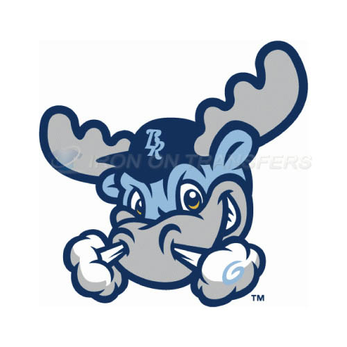Wilmington Blue Rocks Iron-on Stickers (Heat Transfers)NO.7800