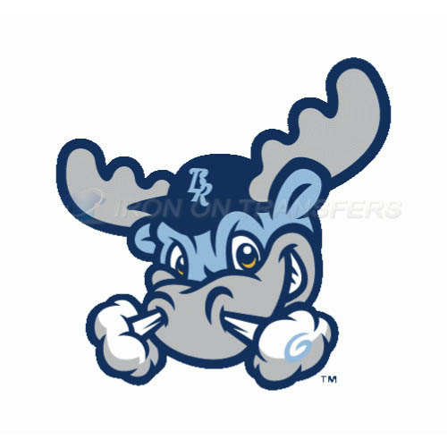 Wilmington Blue Rocks Iron-on Stickers (Heat Transfers)NO.7802