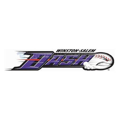 Winston-Salem Dash Iron-on Stickers (Heat Transfers)NO.7809