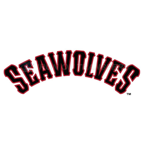 Erie SeaWolves Iron-on Stickers (Heat Transfers)NO.7830