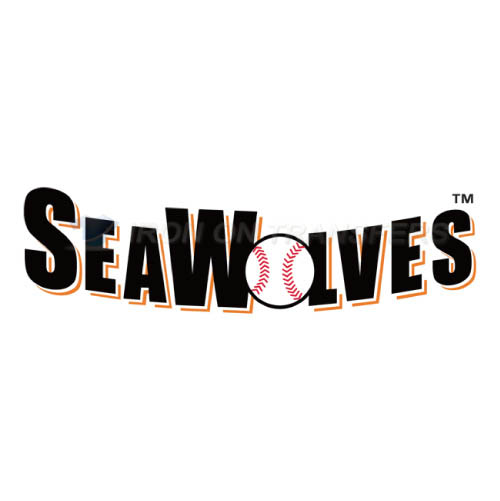 Erie SeaWolves Iron-on Stickers (Heat Transfers)NO.7831