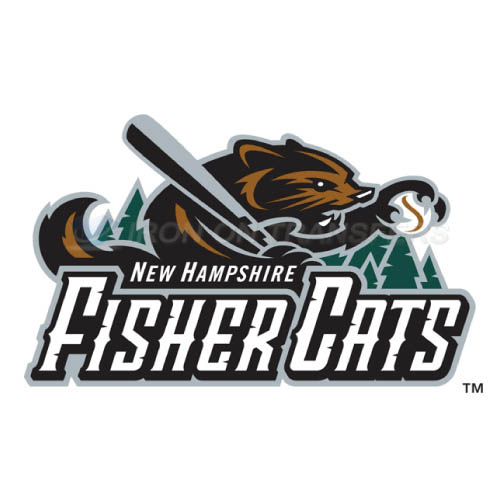 New Hampshire Fisher Cats Iron-on Stickers (Heat Transfers)NO.7856