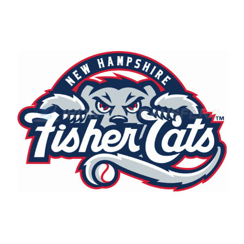 New Hampshire Fisher Cats Iron-on Stickers (Heat Transfers)NO.7857