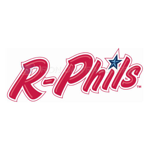Reading Fightin Phils Iron-on Stickers (Heat Transfers)NO.7867