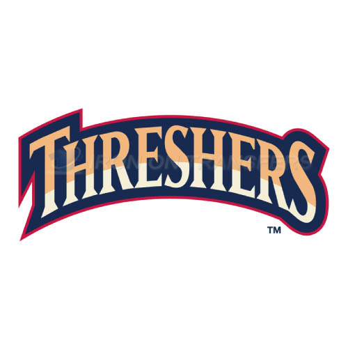 Clearwater Threshers Iron-on Stickers (Heat Transfers)NO.7887