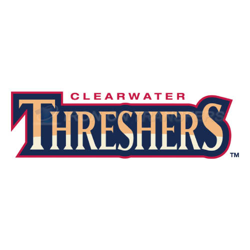 Clearwater Threshers Iron-on Stickers (Heat Transfers)NO.7889