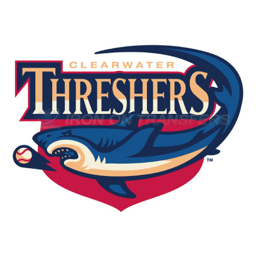 Clearwater Threshers Iron-on Stickers (Heat Transfers)NO.7890