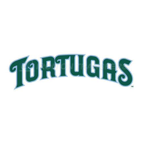 Daytona Tortugas Iron-on Stickers (Heat Transfers)NO.7895