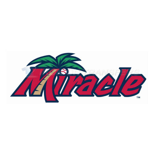 Fort Myers Miracle Iron-on Stickers (Heat Transfers)NO.7905