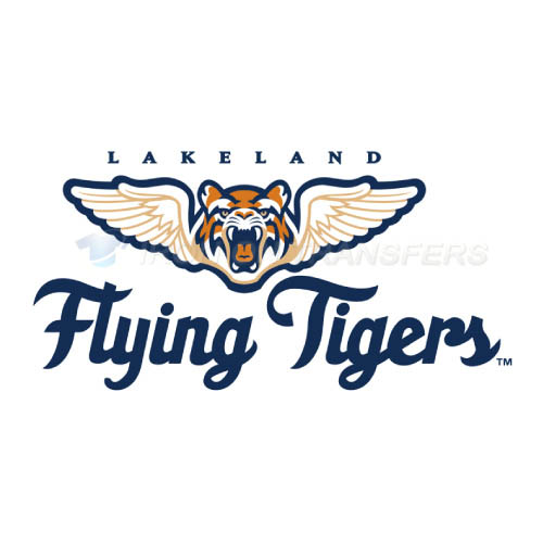 Lakeland Flying Tigers Iron-on Stickers (Heat Transfers)NO.7914