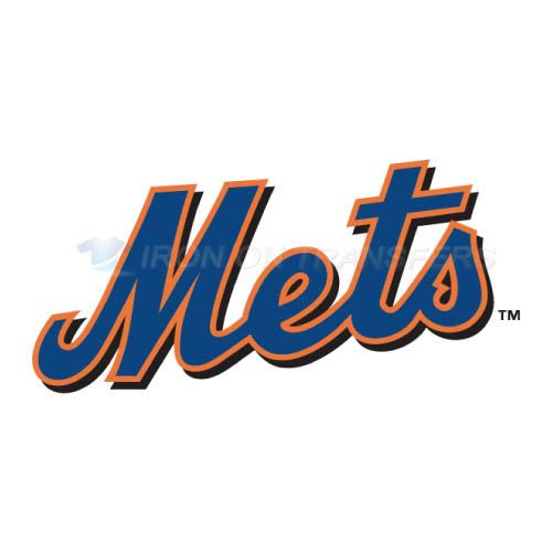 St Lucie Mets Iron-on Stickers (Heat Transfers)NO.7920