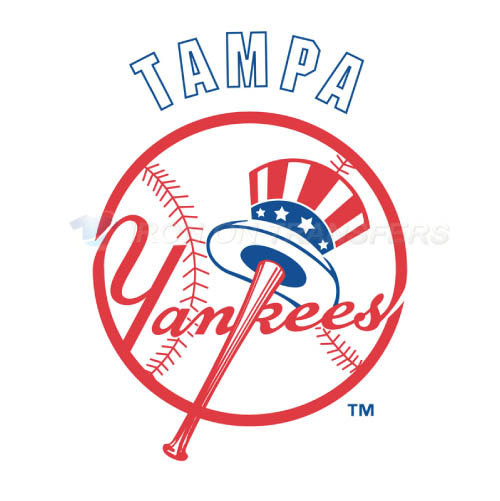 Tampa Yankees Iron-on Stickers (Heat Transfers)NO.7926