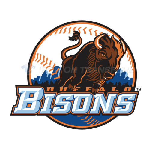 Buffalo Bisons Iron-on Stickers (Heat Transfers)NO.7927