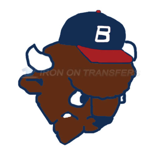 Buffalo Bisons Iron-on Stickers (Heat Transfers)NO.7928