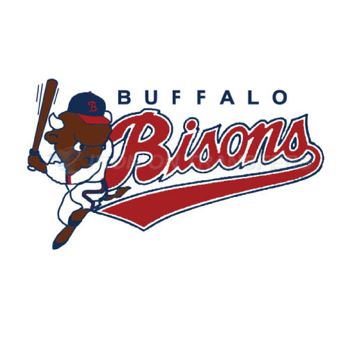 Buffalo Bisons Iron-on Stickers (Heat Transfers)NO.7932