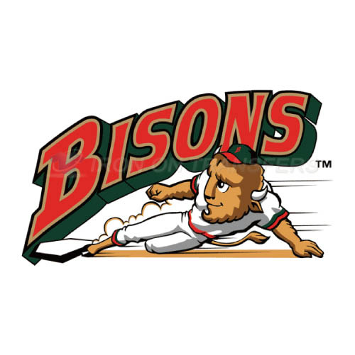Buffalo Bisons Iron-on Stickers (Heat Transfers)NO.7937