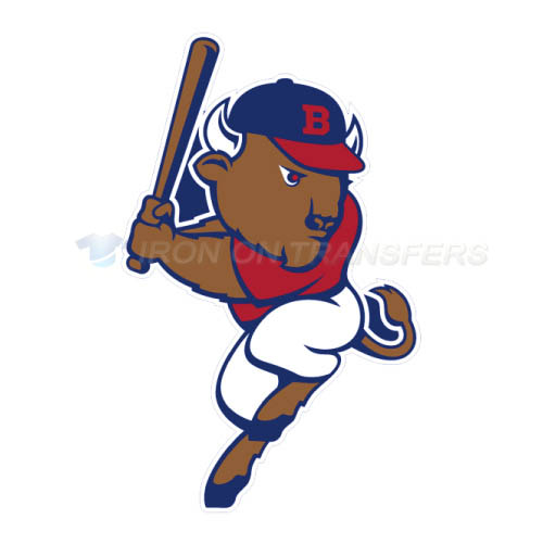 Buffalo Bisons Iron-on Stickers (Heat Transfers)NO.7940