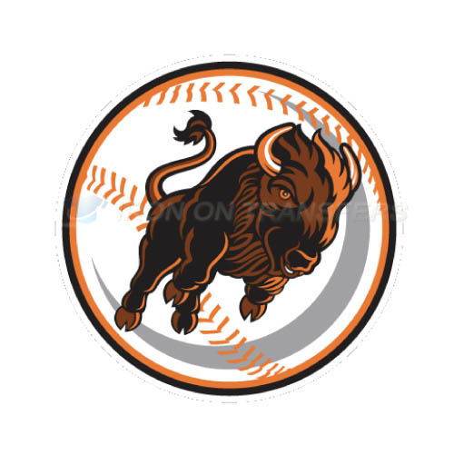 Buffalo Bisons Iron-on Stickers (Heat Transfers)NO.7944