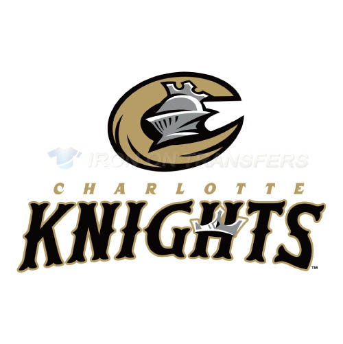 Charlotte Knights Iron-on Stickers (Heat Transfers)NO.7949