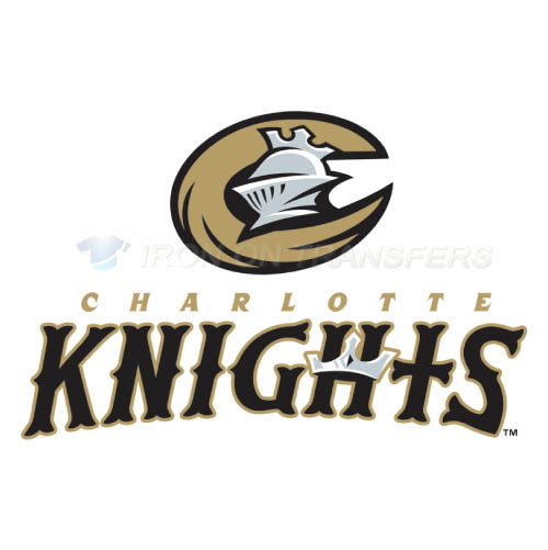 Charlotte Knights Iron-on Stickers (Heat Transfers)NO.7950