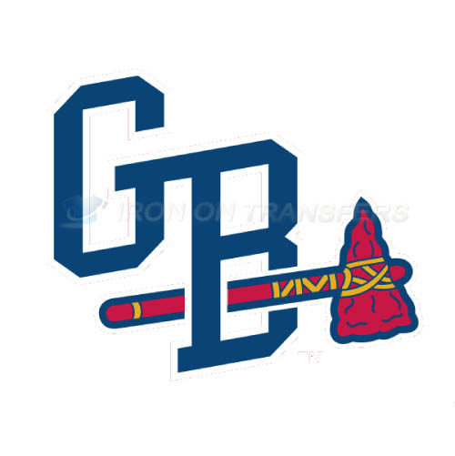 Gwinnett Braves Iron-on Stickers (Heat Transfers)NO.7966