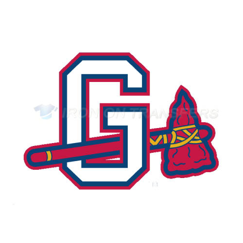 Gwinnett Braves Iron-on Stickers (Heat Transfers)NO.7967