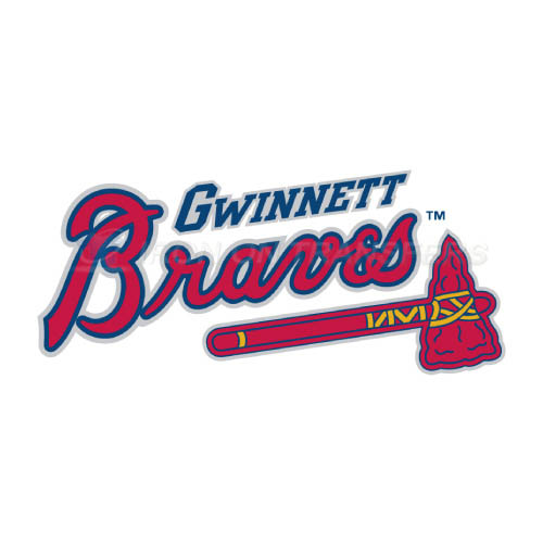 Gwinnett Braves Iron-on Stickers (Heat Transfers)NO.7968