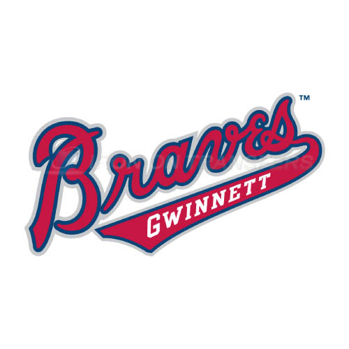Gwinnett Braves Iron-on Stickers (Heat Transfers)NO.7969