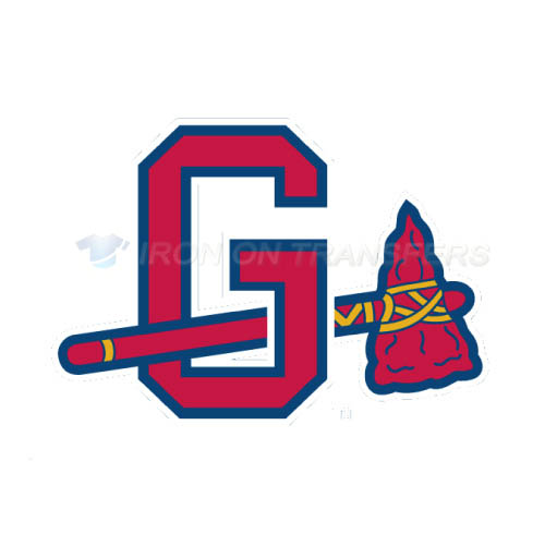 Gwinnett Braves Iron-on Stickers (Heat Transfers)NO.7970