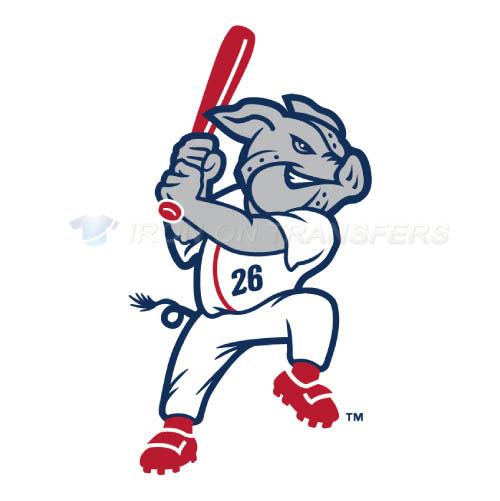 Lehigh Valley IronPigs Iron-on Stickers (Heat Transfers)NO.7983