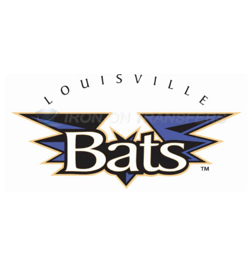Louisville Bats Iron-on Stickers (Heat Transfers)NO.7987