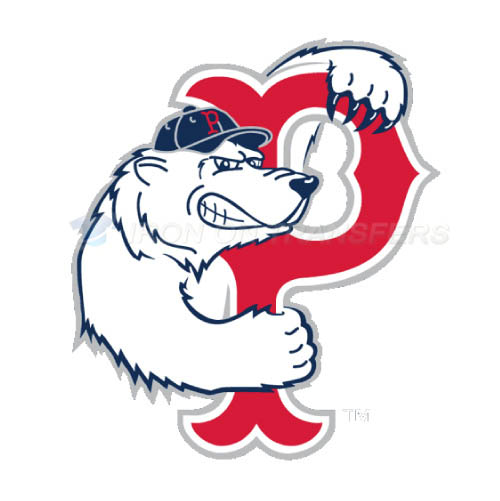 Pawtucket Red Sox Iron-on Stickers (Heat Transfers)NO.7996