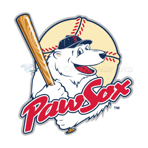Pawtucket Red Sox Iron-on Stickers (Heat Transfers)NO.7998