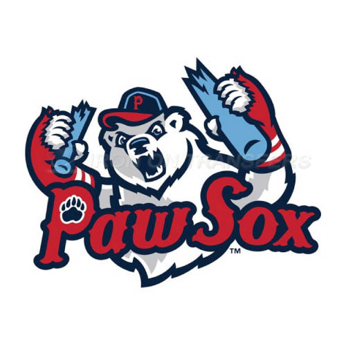 Pawtucket Red Sox Iron-on Stickers (Heat Transfers)NO.7999