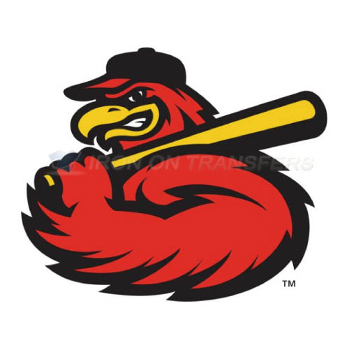 Rochester Red Wings Iron-on Stickers (Heat Transfers)NO.8004