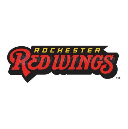 Rochester Red Wings Iron-on Stickers (Heat Transfers)NO.8005