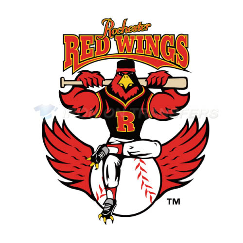 Rochester Red Wings Iron-on Stickers (Heat Transfers)NO.8008