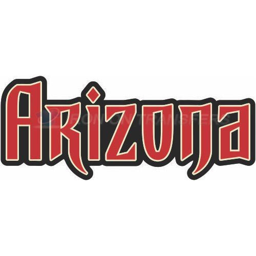 Arizona Diamondbacks Iron-on Stickers (Heat Transfers)NO.1377