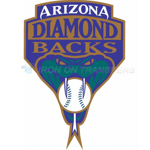 Arizona Diamondbacks Iron-on Stickers (Heat Transfers)NO.1378