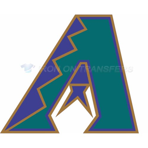 Arizona Diamondbacks Iron-on Stickers (Heat Transfers)NO.1381