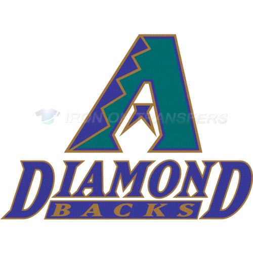 Arizona Diamondbacks Iron-on Stickers (Heat Transfers)NO.1387