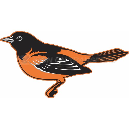 Baltimore Orioles Iron-on Stickers (Heat Transfers)NO.1437