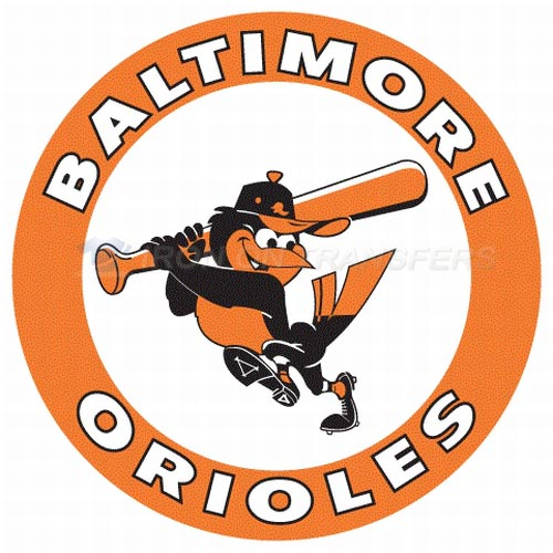 Baltimore Orioles Iron-on Stickers (Heat Transfers)NO.1441