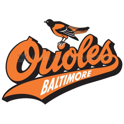 Baltimore Orioles Iron-on Stickers (Heat Transfers)NO.1442